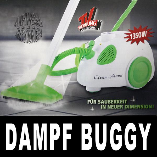 clean maxx dampf buggy dampfreiniger dampfbesen 1350w ebay. Black Bedroom Furniture Sets. Home Design Ideas