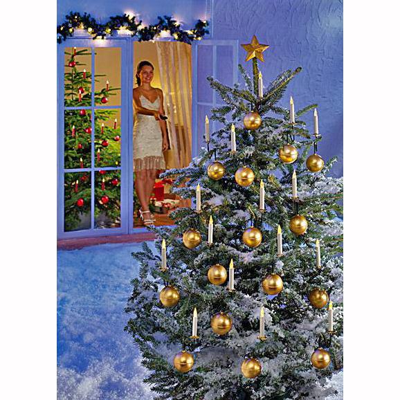 kabellose weihnachtsbeleuchtung au en depresszio. Black Bedroom Furniture Sets. Home Design Ideas
