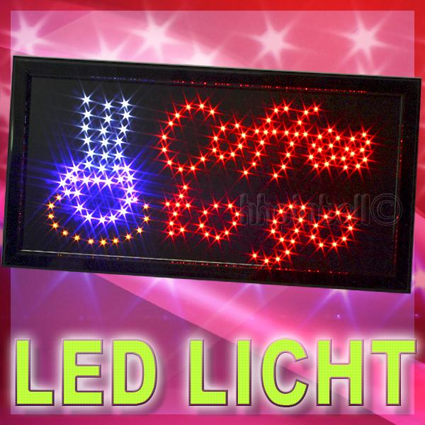 coffee to go led schild reklame leuchtreklame stopper leuchtschild display neu ebay. Black Bedroom Furniture Sets. Home Design Ideas