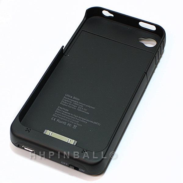 Zusatzakku-Power-Charger-Akku-1900mAh-externe-Batterie-Case-fuer-iPhone-4-4G
