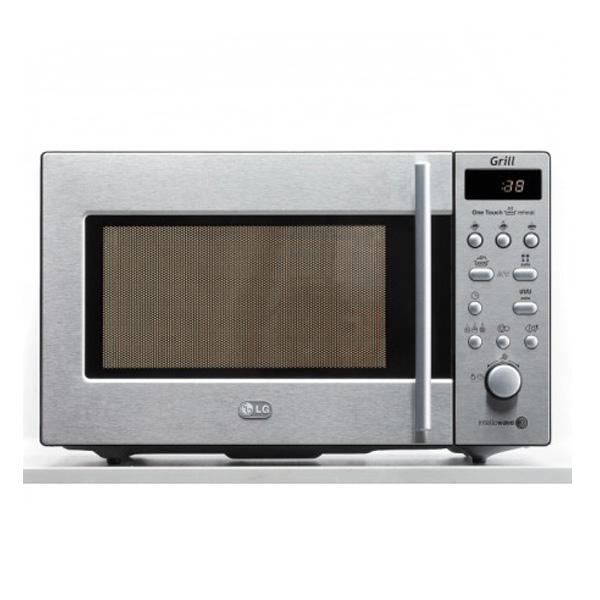 lg mikrowelle mg5888al 800 watt edelstahl 18 liter grill ebay. Black Bedroom Furniture Sets. Home Design Ideas