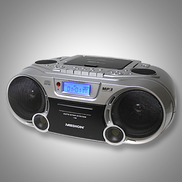 medion tevion stereo radiorecorder cd player mp3 usb port. Black Bedroom Furniture Sets. Home Design Ideas