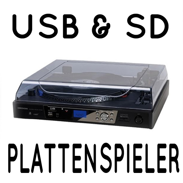 medion design plattenspieler mit usb port platten spieler md82272 ebay. Black Bedroom Furniture Sets. Home Design Ideas