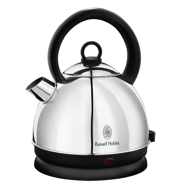 russell hobbs wasserkocher traditional dome edelstahl 1 6 l 3000 watt retro ebay. Black Bedroom Furniture Sets. Home Design Ideas