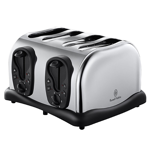 russell hobbs 4 scheiben american toaster edelstahl neu ebay. Black Bedroom Furniture Sets. Home Design Ideas