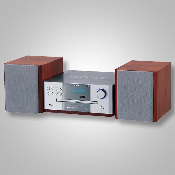 Scott-MDX-i30-Heimkino-DVD-Player-Musikanlage-Audio-Video-Radio-Dolby-Digital