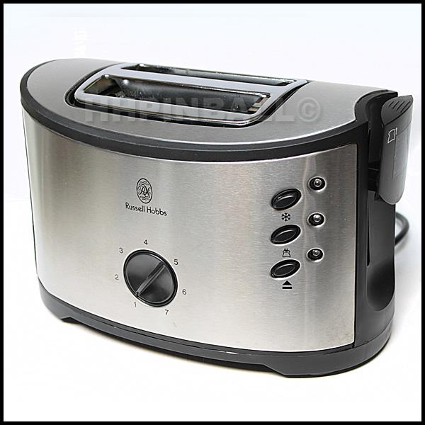 russell hobbs carnaby 2 scheiben design toaster edelstahl satiniert ebay. Black Bedroom Furniture Sets. Home Design Ideas