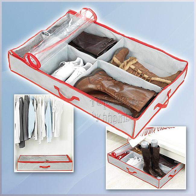 space maxx unterbettkommode aufbewahrung stiefel schuhe ebay. Black Bedroom Furniture Sets. Home Design Ideas